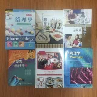營養系用書📚藥理學/膳食計畫與供應/社區營養學/醫護檢驗手冊/團體膳食製備與管理/病理學