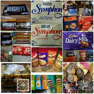 Chocolates & noodles