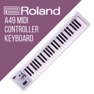 Roland A-49 Midi Keyboard (white)