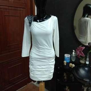 Premium white dress