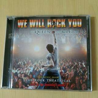 WE WERE ROCK YOU BY QUEEN And Ben Elton