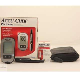 [Pre-order] Accu-Chek Performa Blood Glucose Meter Glucometer Hypocount