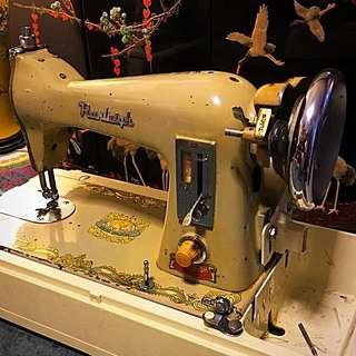 Vintage Original Electric Ranleigh Sewing Machine
