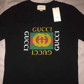 gucci tshirt black