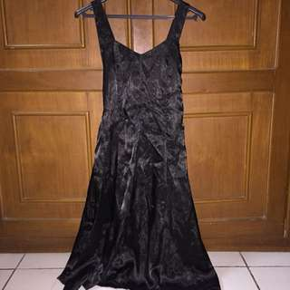 Black mini dres