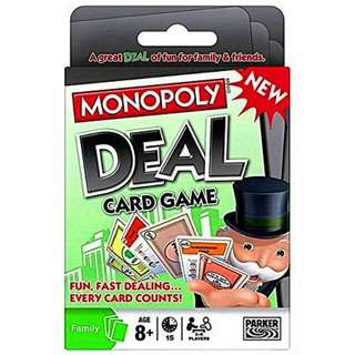 Monopoly Deal (ENGLISH CARDS)