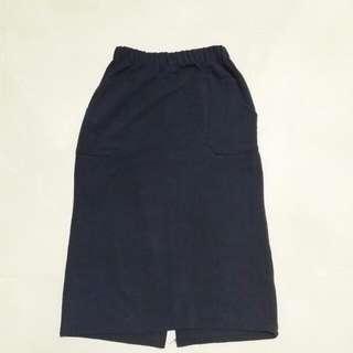 Woven Long Skirt