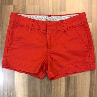 Uniqlo red shorts