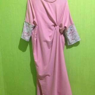 Pink Kaftan Simplymil