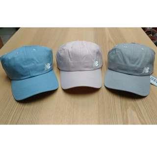 現貨 New Balance cap 老帽 NB logo 粉紅 水藍 淺灰 淡粉 淺藍 刺繡 馬卡龍