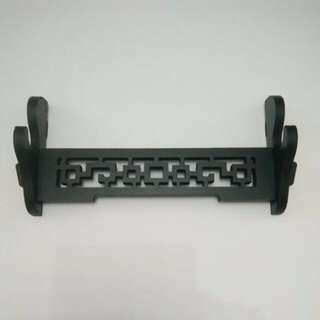 In Stock – MIS 0056 – One Layer Premium Wall Mounted Wooden Sword Rack – 单层高档挂墙刀架