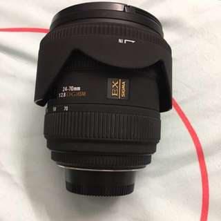 sigma 24-70mm for nikon