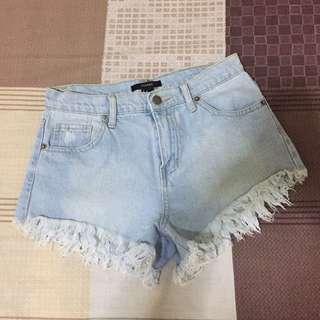 F21 midwaist shorts