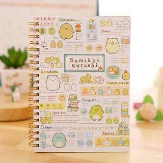 [Fast Clearance Sale] Sumikko Gurashi Notebook - Type D