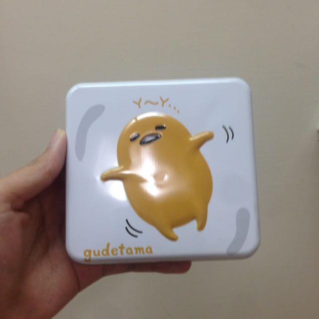 蛋黃哥! 鐵盒+磁鐵
