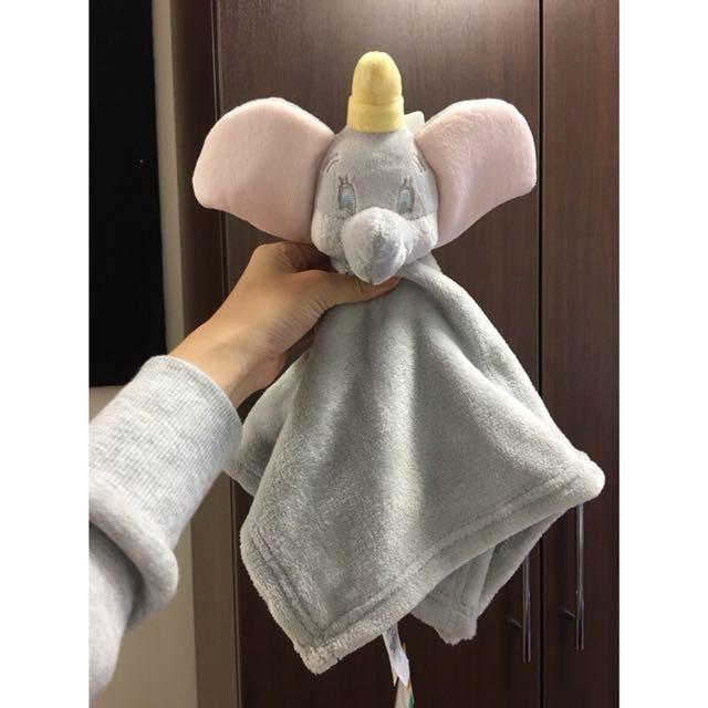 迪士尼 小飛象 安撫巾/毛巾/擦手巾