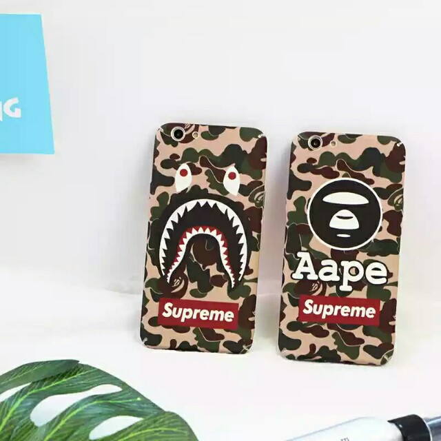 sneakers for cheap c81e9 7aa90 ⚠ Pre-order!! Camo Green / Desert Supreme Shark & Aape design for OPPO A57,  A59 & A59S and iPhone series too! (Enquire for availability)