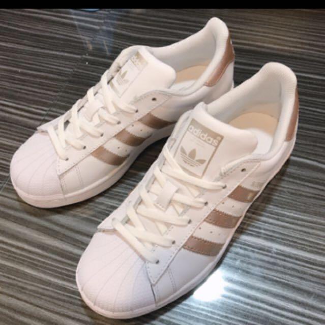 Adidas 玫瑰金