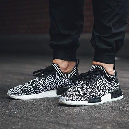 Adidas NMD PK R1 Zebra 'SASHIKO PACK' Black, Men's Fashion, Footwear on Carousell