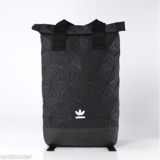 Japan Adidas Originals 3d Mesh Roll Up Backpack Roll Top