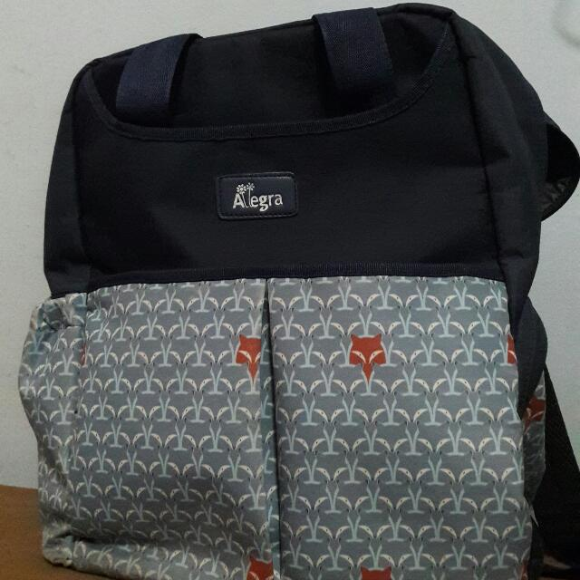Allegra Backpack Diaperbag