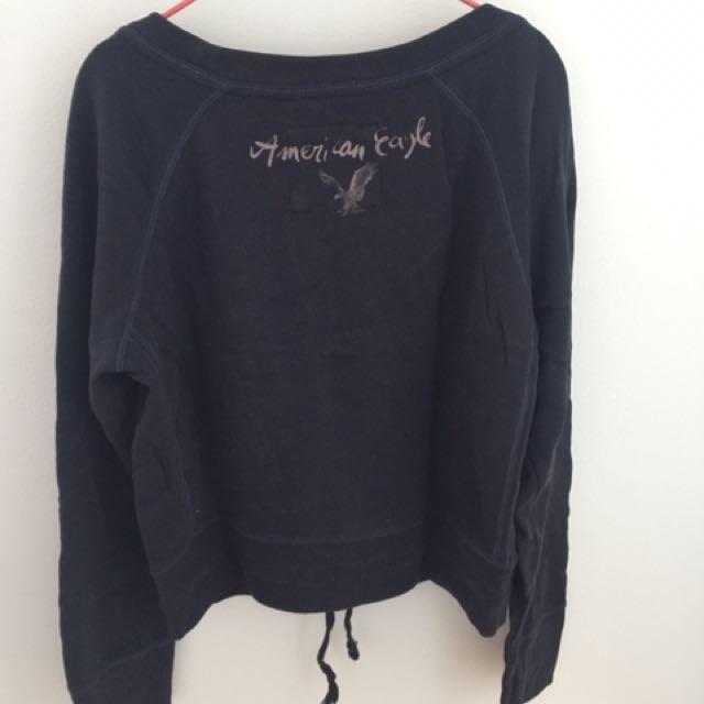 American Eagle short hoodie