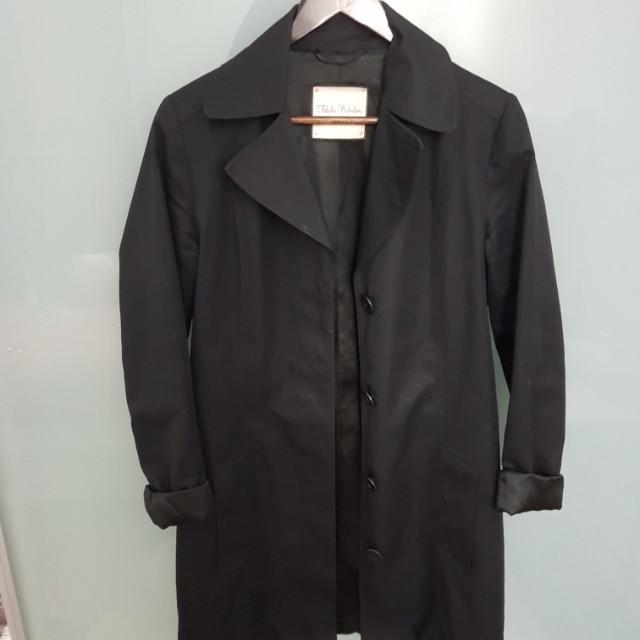 Aritzia talula babaton black coat