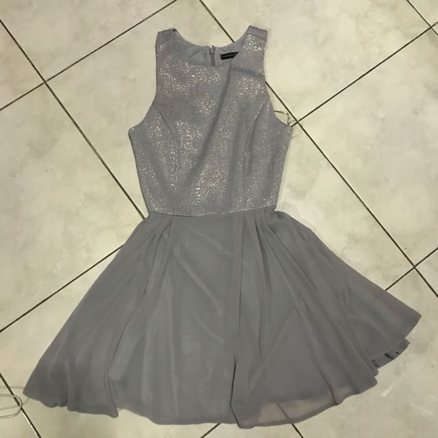 Atmosphere UK Primark Gray Prom Dress