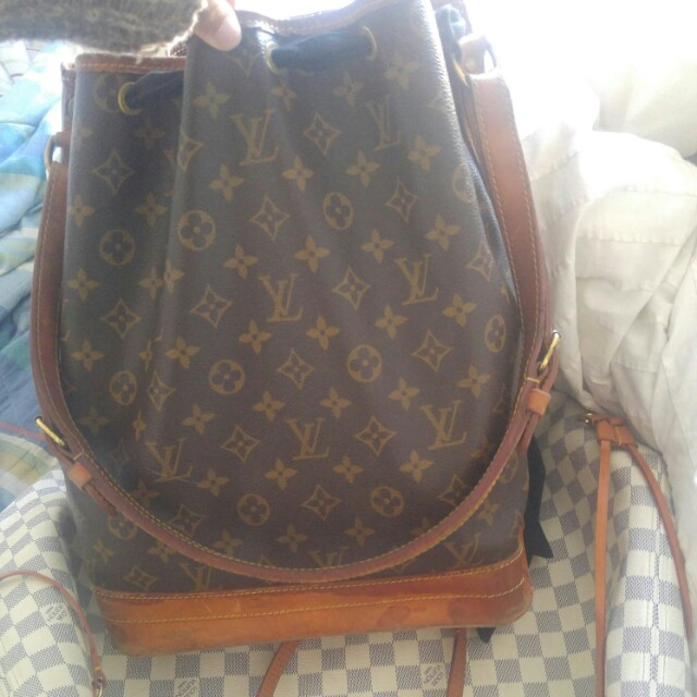 Authentic Louis Vuitton Noe GM Monogram vintage 1989
