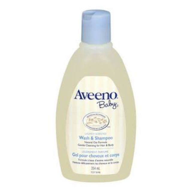 Aveeno Baby Wash and Shampoo 18oz