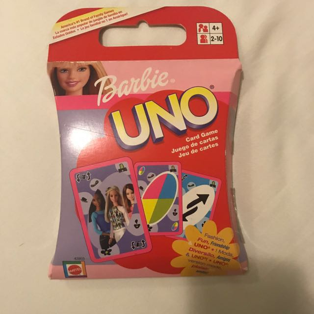 Barbie UNO Cards