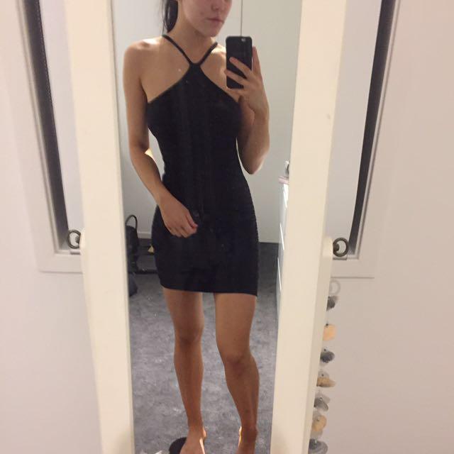 Bardot body con dress
