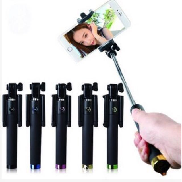Black Monopod With Clicker