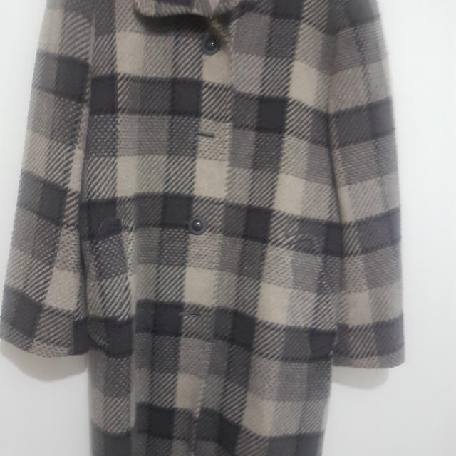 Burberry style coat