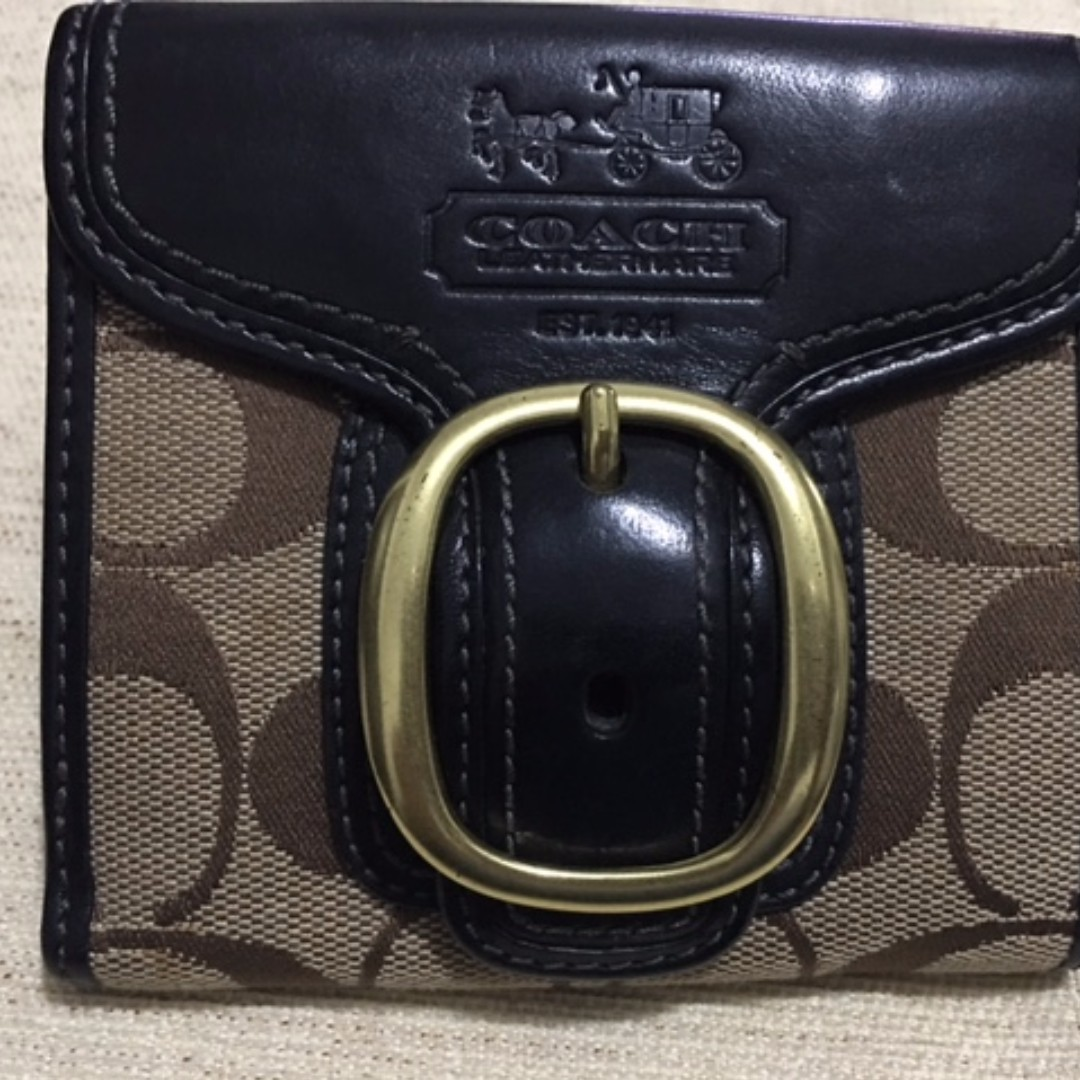 Coach Signature C's Wallet Small