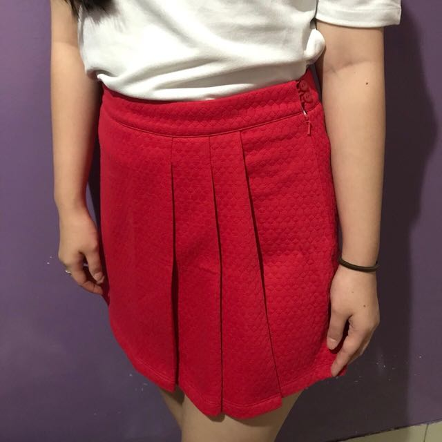 Colorbox skirt in RED