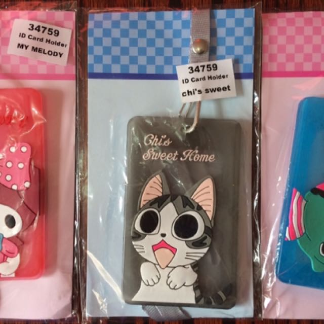 Cute Character ID Holder