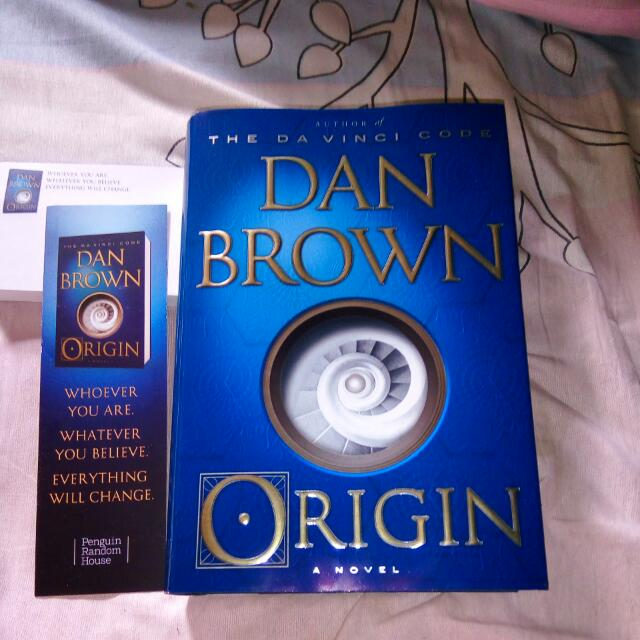 Dan Brown's Latest Book!  Origin!!  Hardbound Brand New  Reason For Selling: Double Copy  Shipping Fee: NCR +60 160 Province