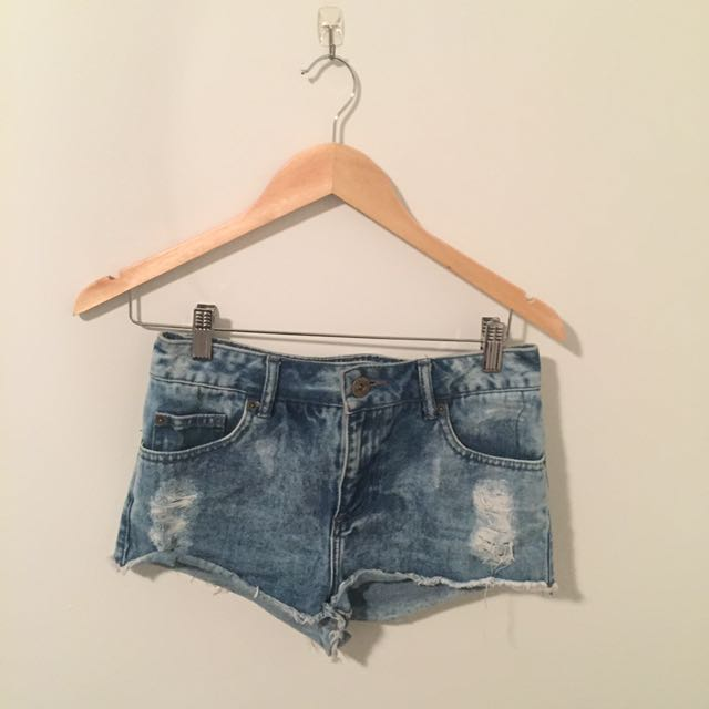 Denim Shorts Bundle X4
