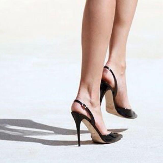 Dolce & Gabbana Slingback High Heels Stiletto