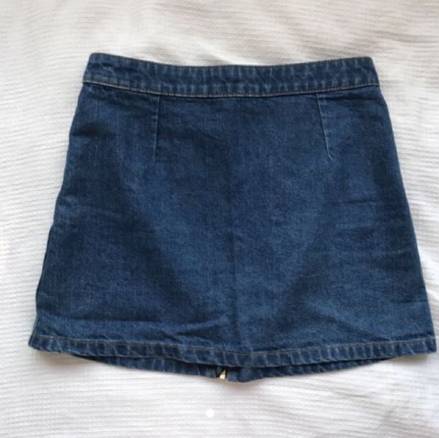 Dotti A line denim skirt