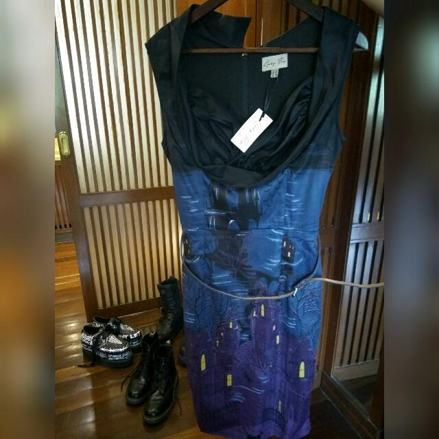 Dress Vintage 50s, Rockabilly By Lindy Bop