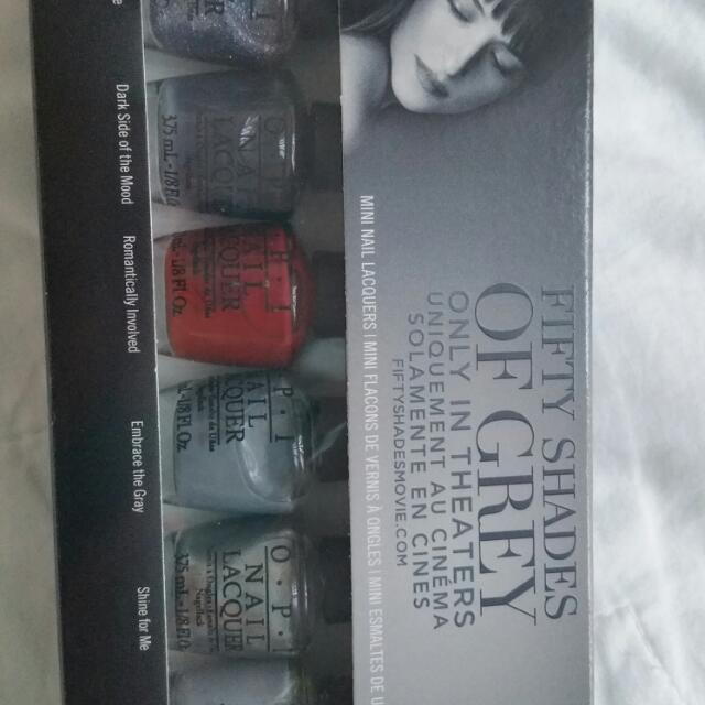 Elxclusive Fifty Shades Of Grey OPI