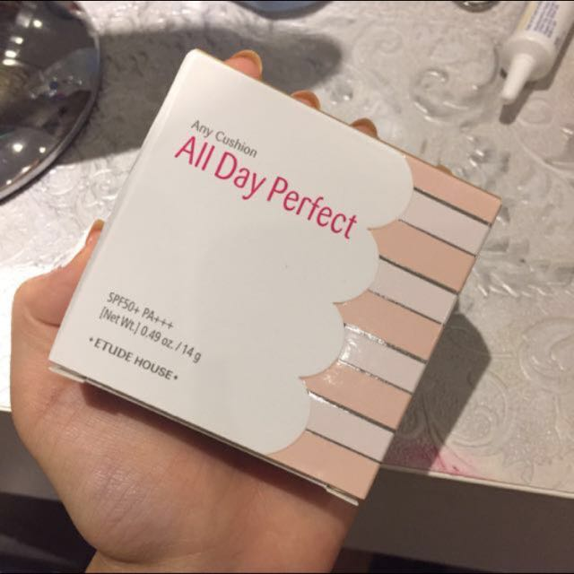 Etude house all day perfect 氣墊補充