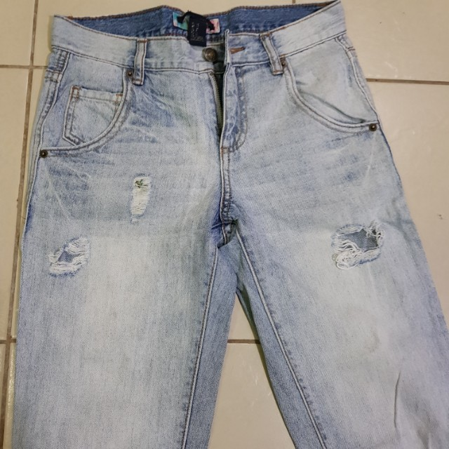 F21 Tattered Jeans