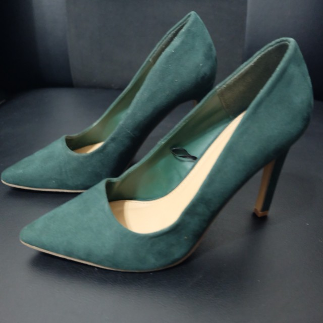 Forever 21 Green High Heels