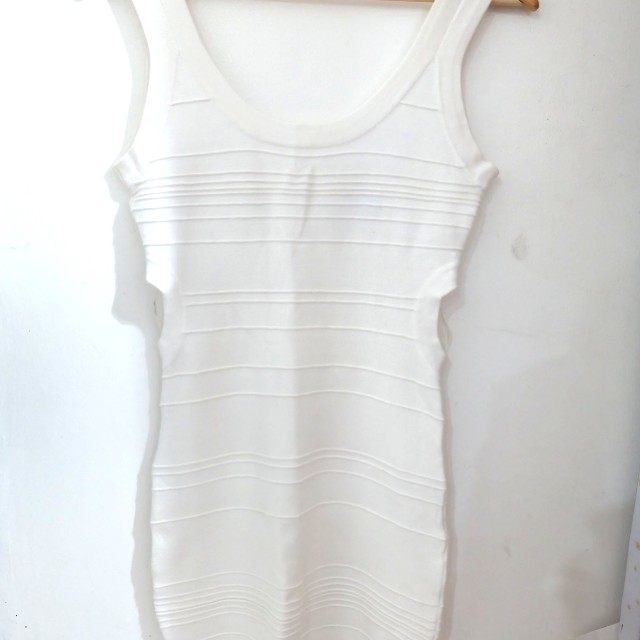 Forever 21 White Bodycon Dress