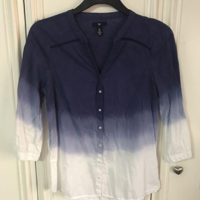 Gap tie dye long sleeves