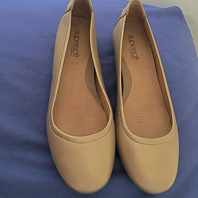 Gold Supersoft Flats