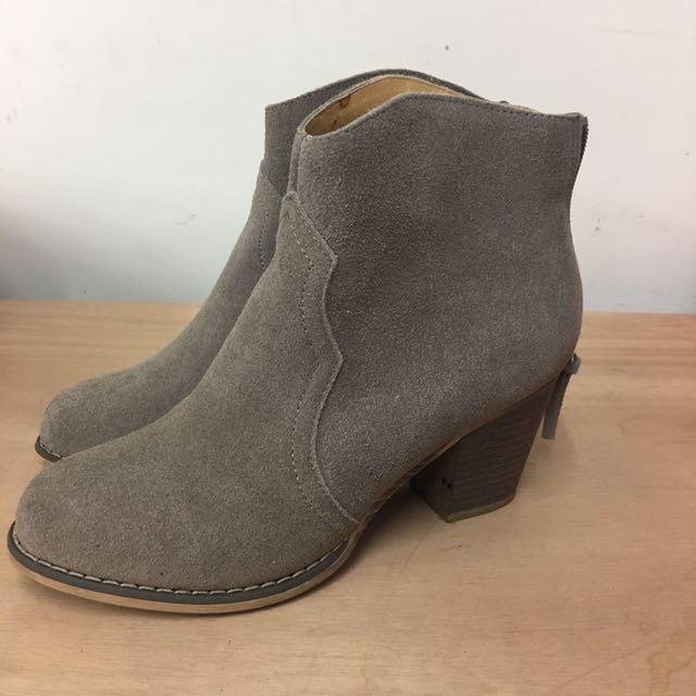 Grace gift 低跟靴